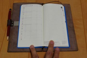 トラベラーズノート カバー+ほぼ日手帳WEEKS