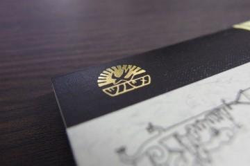 Thinking Power Notebook ツバメロゴ